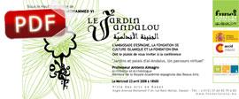 Invitación Conferencia Le Jardin Andalou