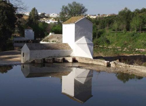 Molino de la ribera del Guadaira, en Alcalá