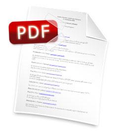 Participantes en PDF
