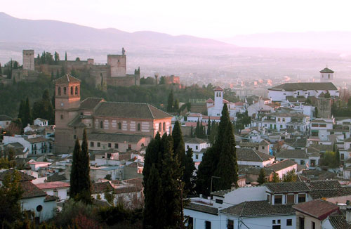 Vista del arrabal del Albayzín, Granada [Foto: A. Pérez]