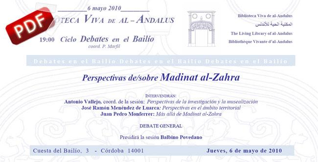 Invitación Ciclo de Debates en la Bailío