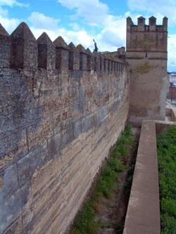 Murallas de la Alcazaba de Badajoz [Foto: A. Pérez]