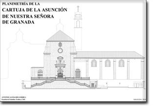 Planimetría de la Cartuja de la Asunción de Nuestra Señora de Granada