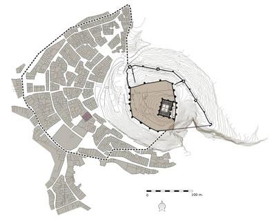Plano hipótetico de la Onda andalusí