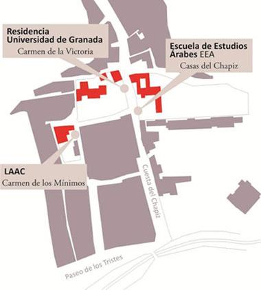 Plano de situación del LAAC