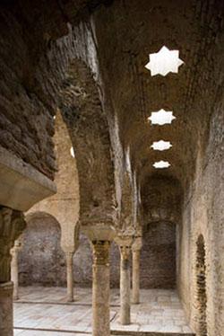 Sala templada del Bañuelo de Granada