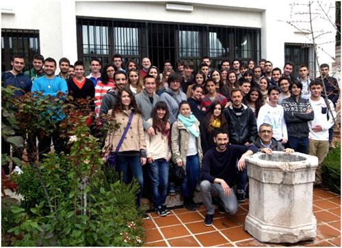 1º curso del Grado de Historia de la Facultad de Filosofía y Letras de la Universidad de Granada