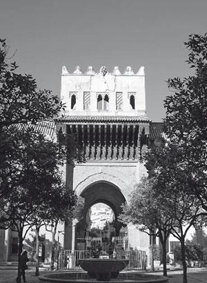 Catedral de Sevilla. Puerta del Perdón. Fachada del Patio de los Naranjos (R. Cómez).