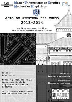 Máster Universitario en Estudios Medievales Hispánicos de la Universidad Autónoma de Madrid