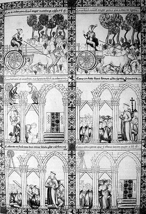 Cantiga 266, Códice de Florencia