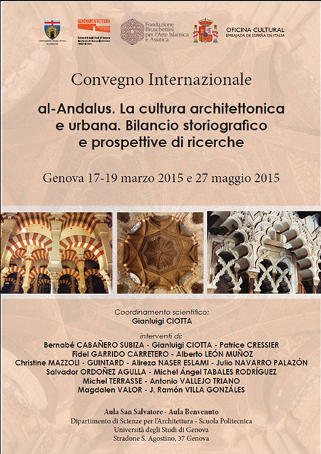 """Congreso Internacional """"al-Andalus. La cultura architettonica e urbana. Bilancio storiografico e prospettive di ricerche"""""""