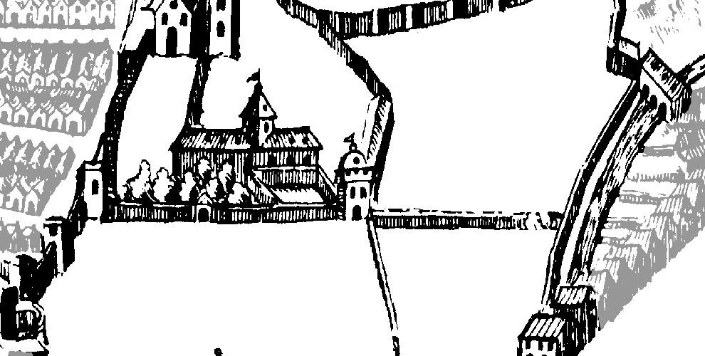 El Cuarto Real en la Plataforma de Ambrosio de Vico (1596).