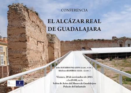 Conferencia: El Alcázar Real de Guadalajara