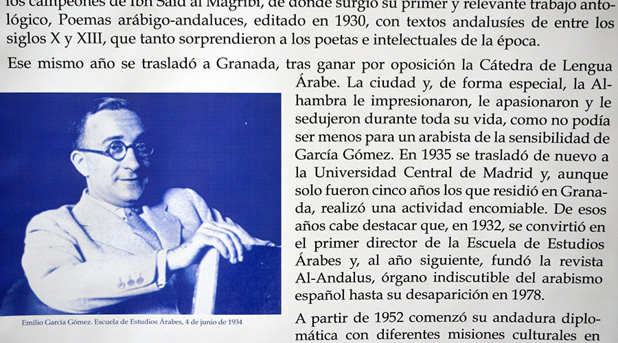 Arabista García Gómez