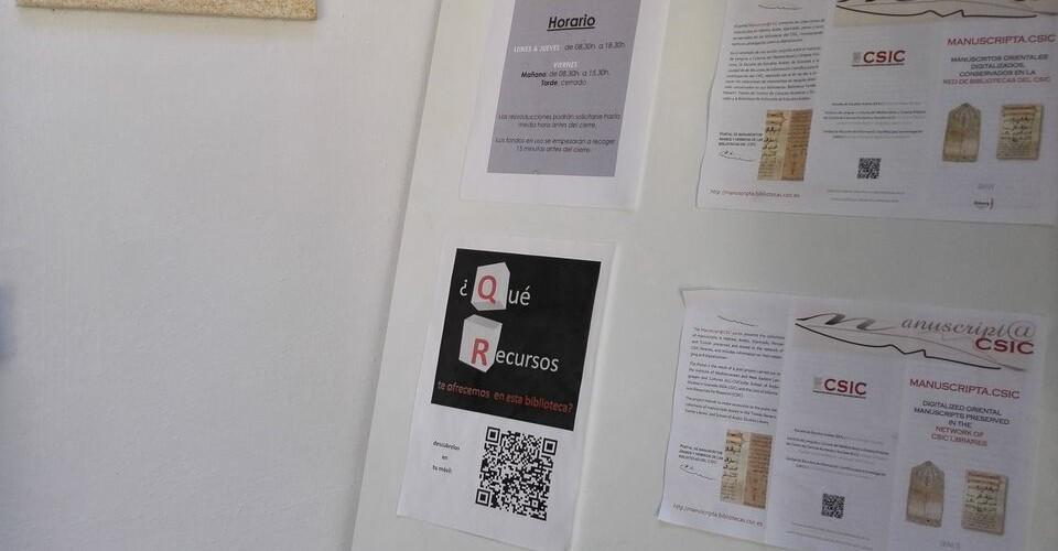 Información Biblioteca Escuela de Estudios Árabes