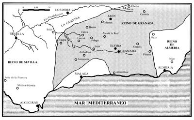 Granada en la historia de Al Andalus