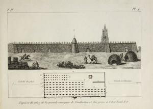 Plan de la grande Mosquee de Tembuctou