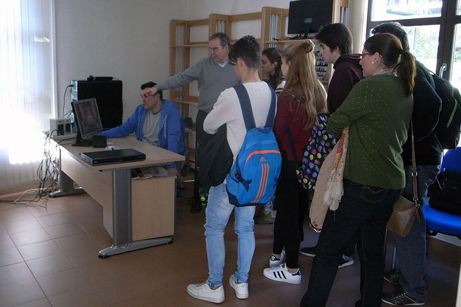 Visita alumnos
