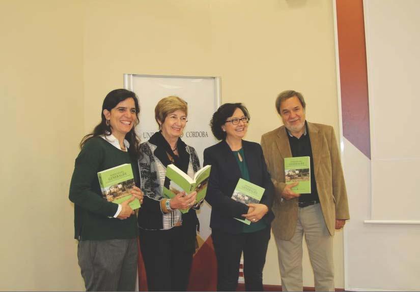 """Presentado el libro """"Huertas del Generalife…"""" en el Rectorado de la UCO"""