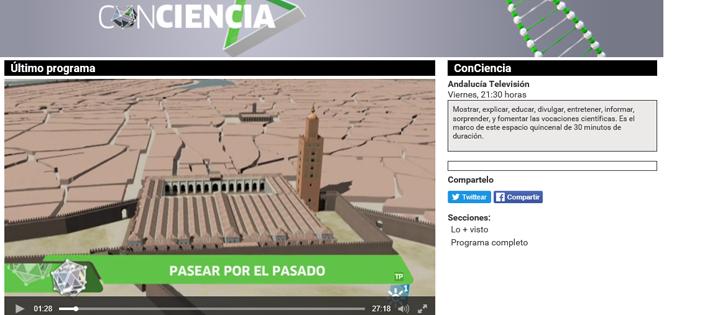 Reportaje sobre las reconstrucciones virtuales realizadas en el LAAC-EEA-CSIC