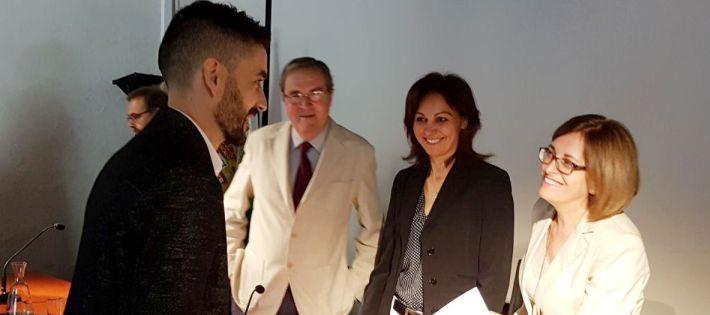 La tesis del Dr. Fidel Garrido Carretero obtuvo la calificación de Sobresaliente Cum Laude por unanimidad