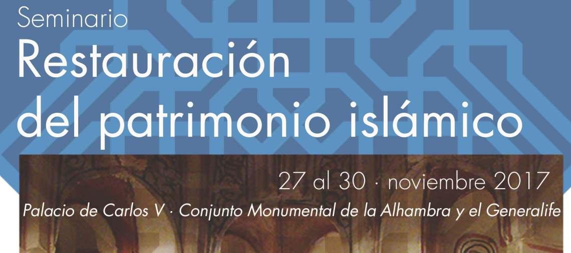 El Dr. Antonio Orihuela (CSIC-EEA-LAAC) participa en el Seminario Restauración del Patrimonio Islámico