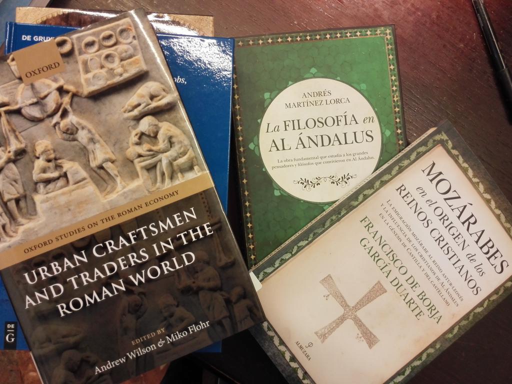 Nuevos libros y revistas ingresados entre julio y diciembre de 2017