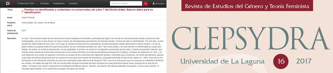 Últimas publicaciones de Mayte Penelas