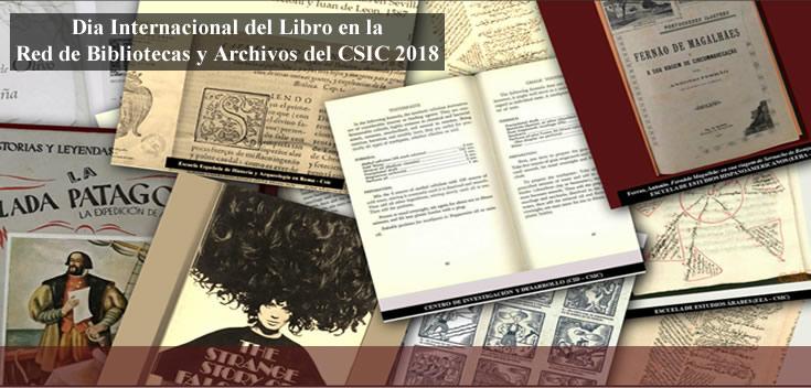 Las bibliotecas y archivos del CSIC os desean Feliz Día del Libro