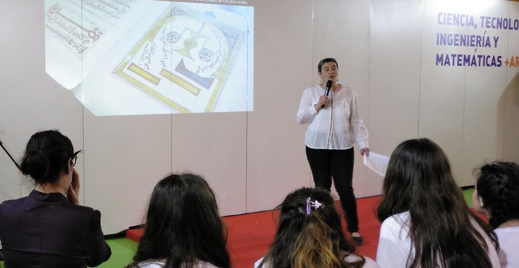 Investigadoras de la EEA en la 16ª Feria de la Ciencia de Sevilla