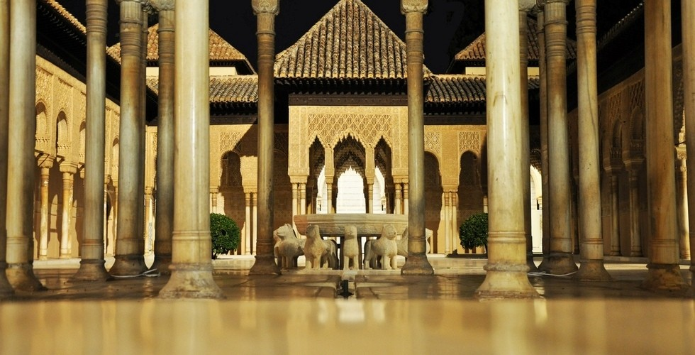 Patio de los Leones, Alhambra, Granada