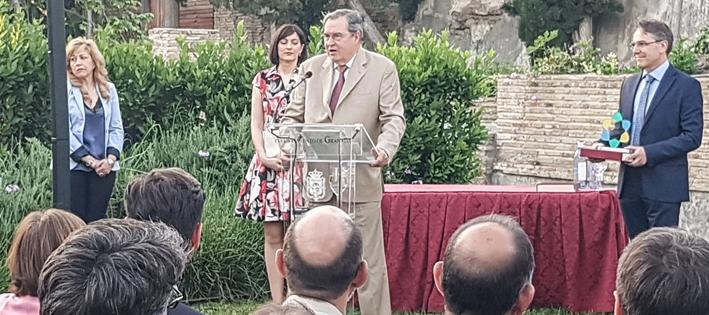"""El Dr. Antonio Almagro del G.I. LAAC, galardonado con el premio """"Granada, Ciudad de la Ciencia y la Innovación"""" en su apartado de Trayectoria Científica"""