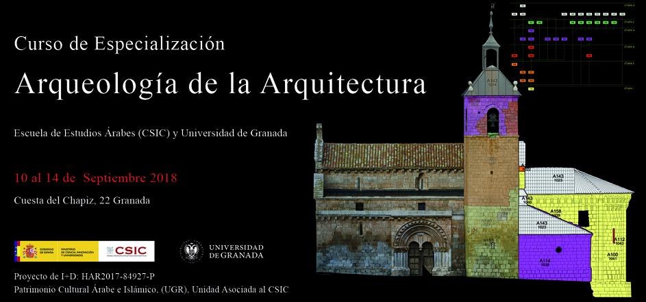 Curso de Especialización: Arqueología de la Arquitectura