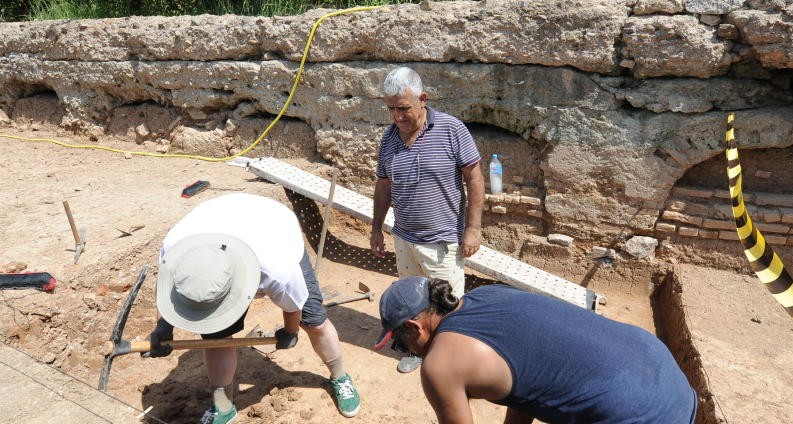 Nuevas noticias sobre las excavaciones dirigidas Por el Dr. Julio Navarro en Monteagudo