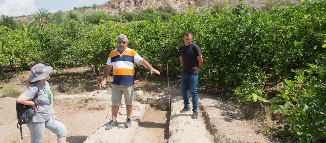 04/09/2018.-Murcia Cementerio de Monteagudo. Excavacaciones arqueologicas