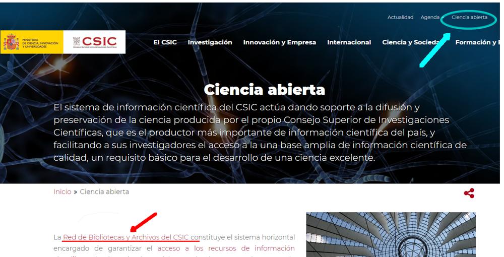 La Web CSIC se renueva