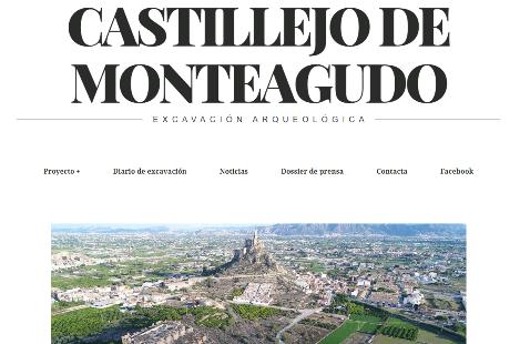 La excavación arqueológica del Castillejo de Monteagudo tiene página web