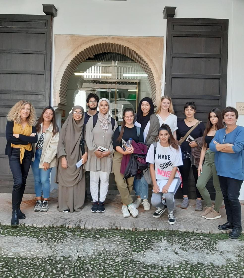 Visita de estudiantes de la UGR