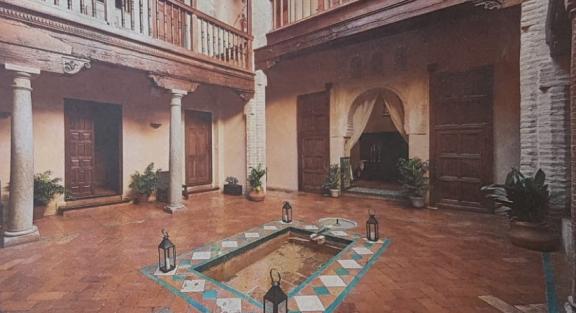 Julio Navarro, miembro del LAAC (EEA, CSIC), participa en un artículo del periódico IDEAL de Granada sobre la casa de tradición islámica
