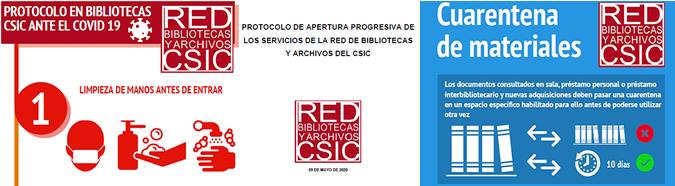 Apertura progresiva de las Bibliotecas y Archivos de la Red