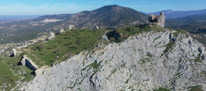 Julio Navarro, miembro del LAAC (EEA, CSIC), coautor del artículo 'Análisis de las estructuras emergentes del castillo de La Peña, cabeza de la encomienda calatrava de Martos (Jaén)' en la revista Arqueología de la Arquitectura