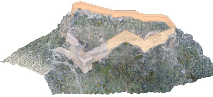 Antonio Orihuela, investigador del LAAC (EEA, CSIC), y María Aurora Molina Fajardo (CEHVAL) publican en la revista 'Sustainability' el artículo: 'UAV Photogrammetry Surveying for Sustainable Conservation: The Case of Mondújar Castle (Granada, Spain)'